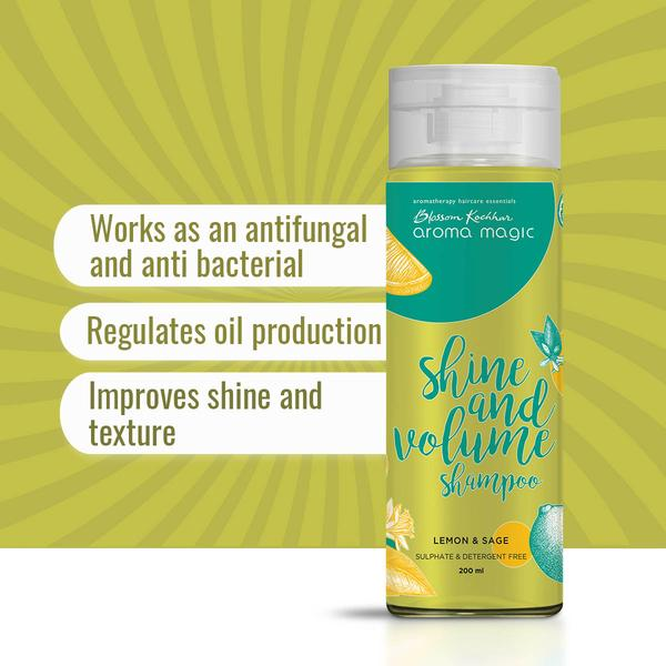 Aroma Magic Shine Volume Shampoo
