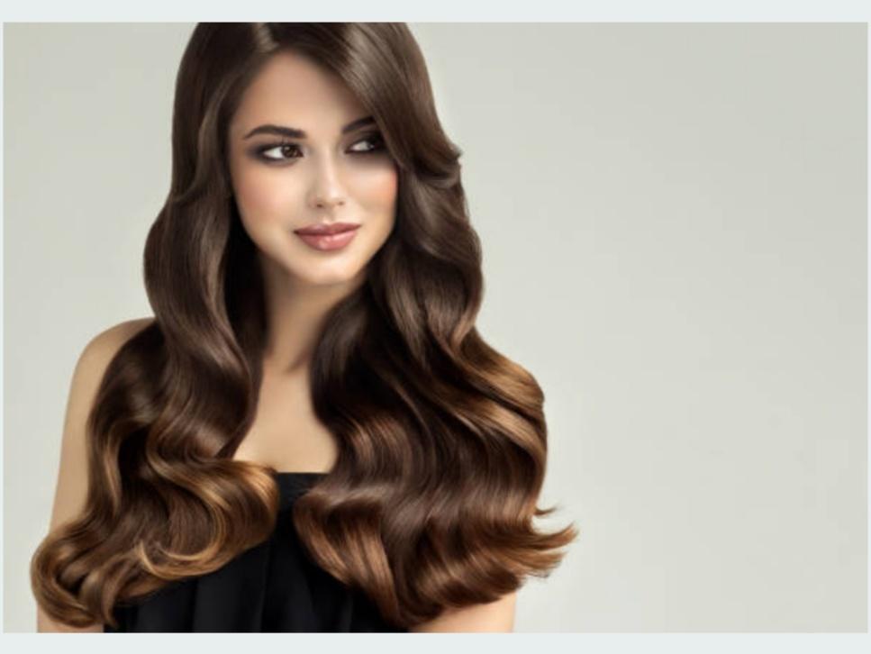 BOUNCY HAIR