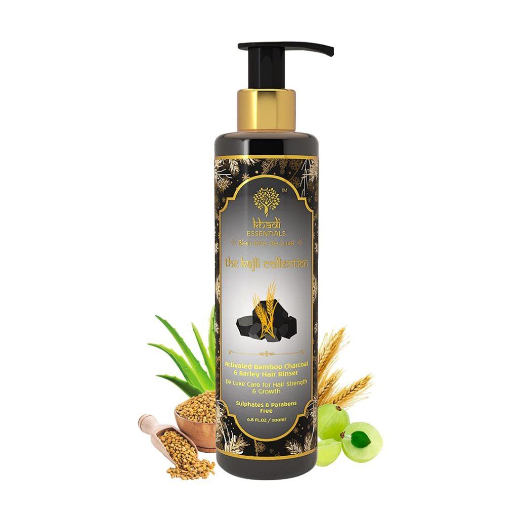 Khadi Essentials Charcoal Hair Shampoo